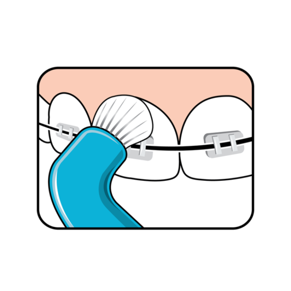 Зубная щетка TePe Compact Tuft (Монопучковая)